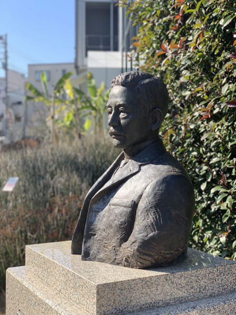 漱石山房記念館 漱石胸像