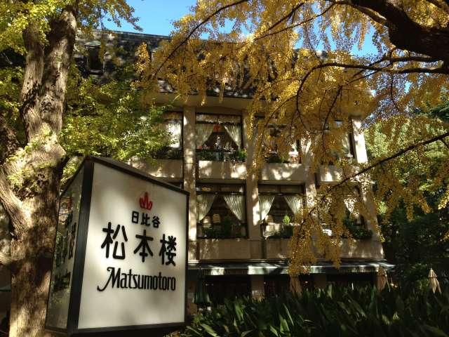夏目漱石 「野分」 松本楼
